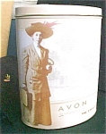 Click here to enlarge image and see more about item T544: Avon The Early Years Tin