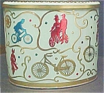 Click here to enlarge image and see more about item T564: Vintage Baret Ware English Bicycle Tin