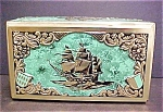Vintage Western Germany Ship Tin