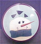 Click here to enlarge image and see more about item T568: 2001 Fiddlestix Snowman Tin
