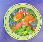 Click to view larger image of Round Parrot Tin (Image1)