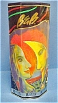 Click here to enlarge image and see more about item T613: Bacardi Tin - Girl/Moon Design by Paul Davis