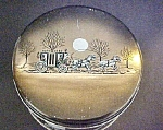 Click here to enlarge image and see more about item T626: Vintage Cherrydale Farms  Moonlight Ride Tin