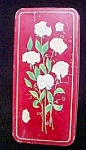 Bouquet Of White Flowers - Vintage Tin