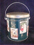 Click to view larger image of All Seasons/Holiday Pail Style Tin Container (Image1)