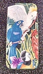Click to view larger image of Parrots Rectangular Tin Container (Image1)