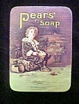 Vintage English Pears' Soap Tin Container