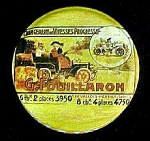 Click here to enlarge image and see more about item T702: G. Fouillaron Vintage French  Advertising Tin