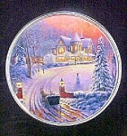 Winter Scenic Tin Container