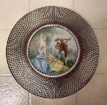 Click to view larger image of Vintage  Round Tin w/Period Scene (Image7)