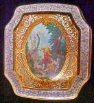 Click to view larger image of Period Tin Featuring Cupid - 8 Sided (Image1)
