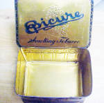 Click to view larger image of Epicure Smoking Tobacco Tin Container (Image8)