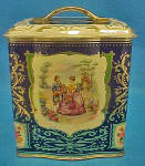 Click to view larger image of Victorian Style Tin - Vintage (Image1)