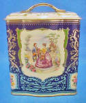 Click to view larger image of Victorian Style Tin - Vintage (Image3)