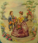 Click to view larger image of Victorian Style Tin - Vintage (Image6)