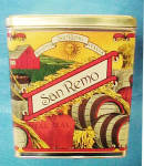 Click to view larger image of San Remo Buona Italia - Set 4 Tin Cannisters (Image8)
