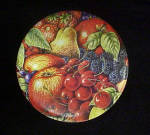 Click to view larger image of Fruit Design Round Tin Container (Image3)