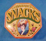 Click to view larger image of Hague's Snacks Advertising English Tin (Image5)