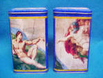 Click here to enlarge image and see more about item T824: Creation of Adam Tins - Limited Editon/2 Tins