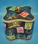 Click to view larger image of West German Tin - Stamp Motif (Image4)