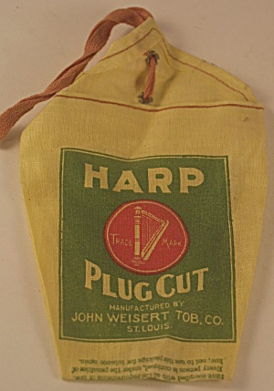 Unused Harp Plug Cut Tobacco Bag (Image1)