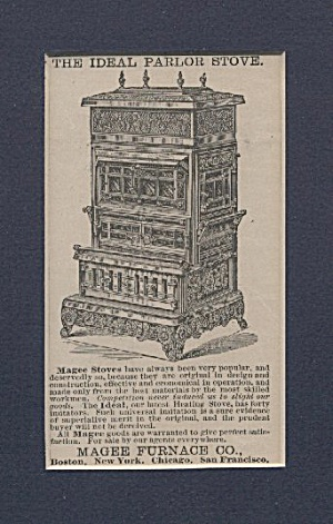 Magee Furnace Company Stove Ad
