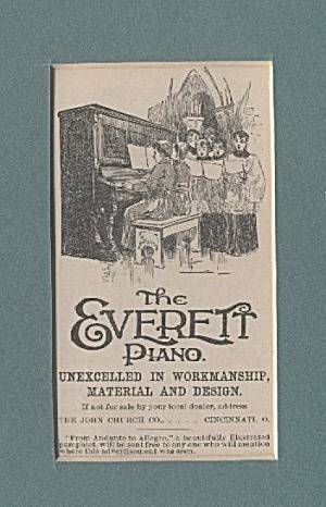 Everett Piano Ad