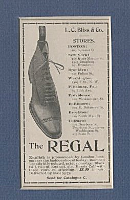 Matted Regal Shoe Ad (Image1)