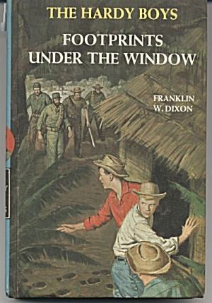 Footprints under the Window - The Hardy Boys #12 (Image1)