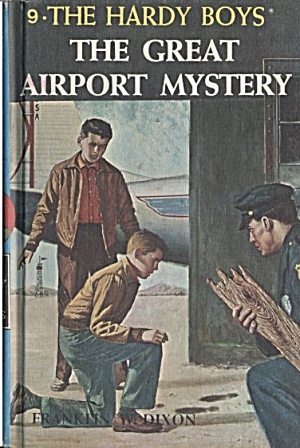 The Great Airport Mystery - Hardy Boys #9 (Image1)