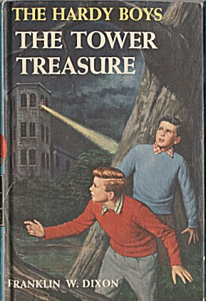 The Tower Treasure - Hardy Boys #1 (Image1)