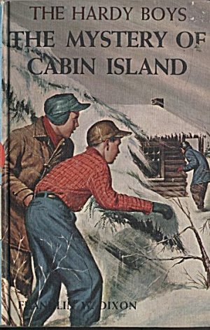 The Mystery of Cabin Island - Hardy Boys #8 (Image1)