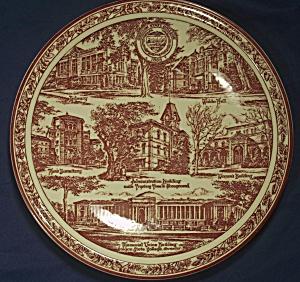 Vernon Kilns Oregon State College Souvenir Plate (Image1)