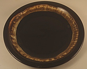 Pfaltzgraff Pottery Brown Gourmet Dinner Plate