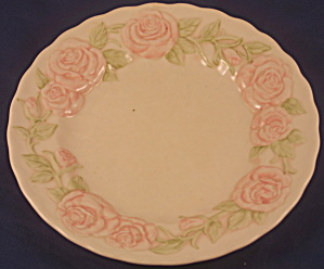 Vernon Rose Pink Salad Plate