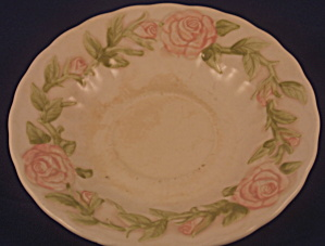 Vernon Rose Pink Saucer (Stained)