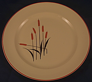 Cattail Camwood Luncheon Plate