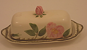 Franciscan Desert Rose Covered Butter Dish
