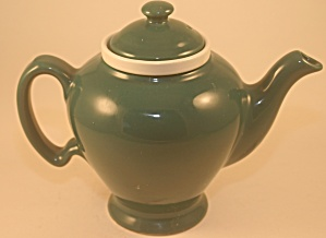 Torquoise Mccormick Teapot With Tea Strainer