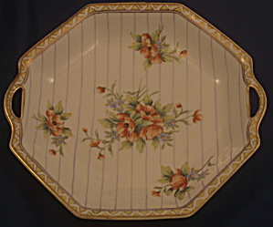 Noritake Nippon Eight-sided Handled Bowl