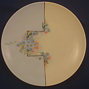 Jaeger Hand-painted Plate
