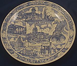 Vernon Kilns Arkansas Plate (Image1)