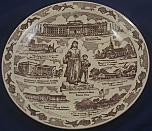 Vernon Kilns Oklahoma Plate (Image1)