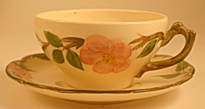 Franciscan Desert Rose Cup and Saucer (Image1)