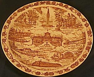 Vernon Kilns Ohio Plate (Image1)