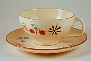 Franciscan Larkspur Cup And Saucer
