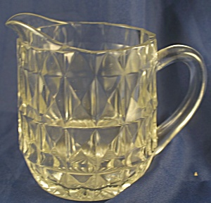 "Jeannette Glass Co. Windsor ""windsor Diamond"""