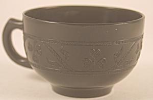 Black Hazel Atlas Cloverleaf Cup (Image1)
