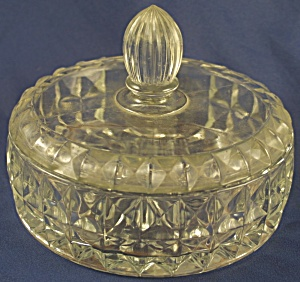 "Windsor ""windsor Diamond"" Candy Jar And Lid"