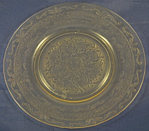 S Pattern (Stippled Rose Band) Lunch Plate